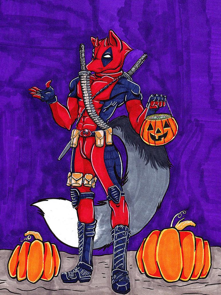 Halloween Deadpool Costume by Wolfangkun on DeviantArt