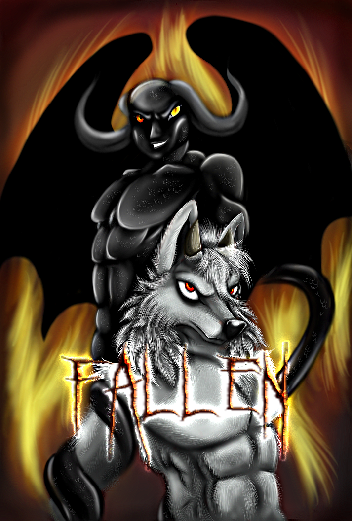 Fallen: Comic Series and Cover teaser by Wolfangkun