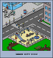 pixelSCENE - inner city by blackice