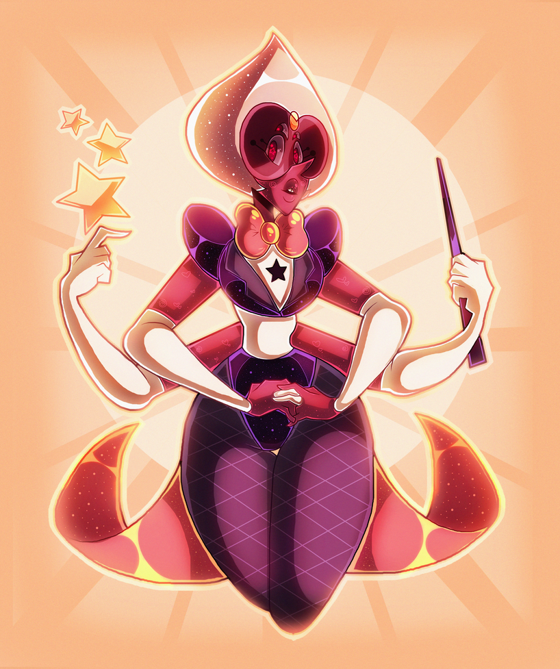 I was really feeling down in both inspiration and mood. so I wanted to draw another sardonyx fanart! kind of a re draw of my old sardonyx fanart. just to try some new techniques   Art (c) Me S...