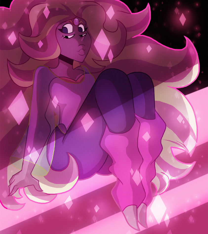 There are no words to describe this elegant beauty. And the fact she is the literal representation of my OTP. Art (C) Me Steven Universe (c) CN/RebeccaSugar