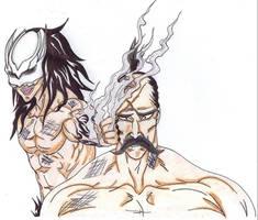 Kurogami vs Yamamoto by Blazewb by RankTrack45