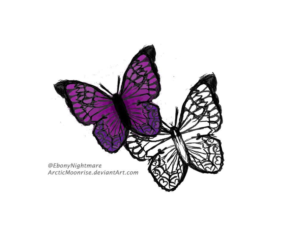 Butterflies by ArcticMoonrise