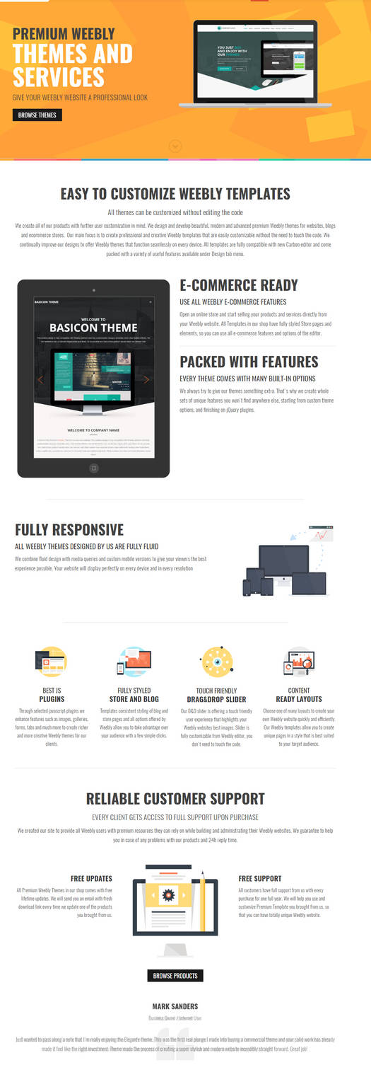 Easy to Customize Weebly Templates by modernwebthemes on DeviantArt