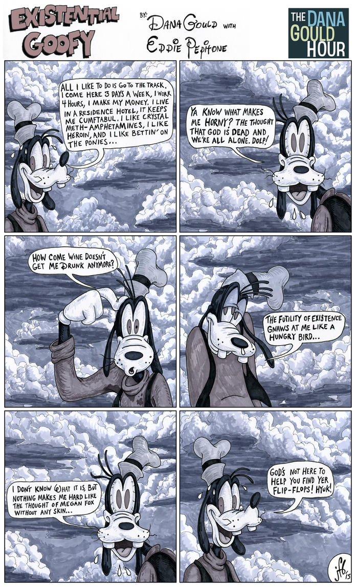 Existential Goofy by madbaumer37