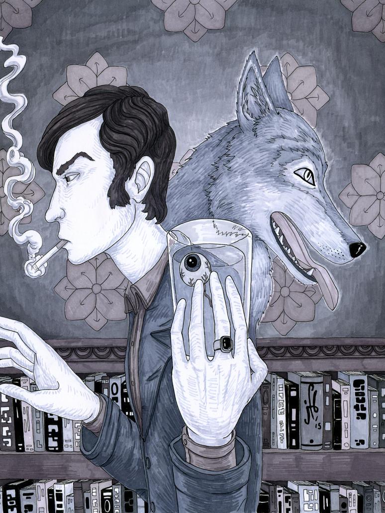 Der Wolf II by madbaumer37