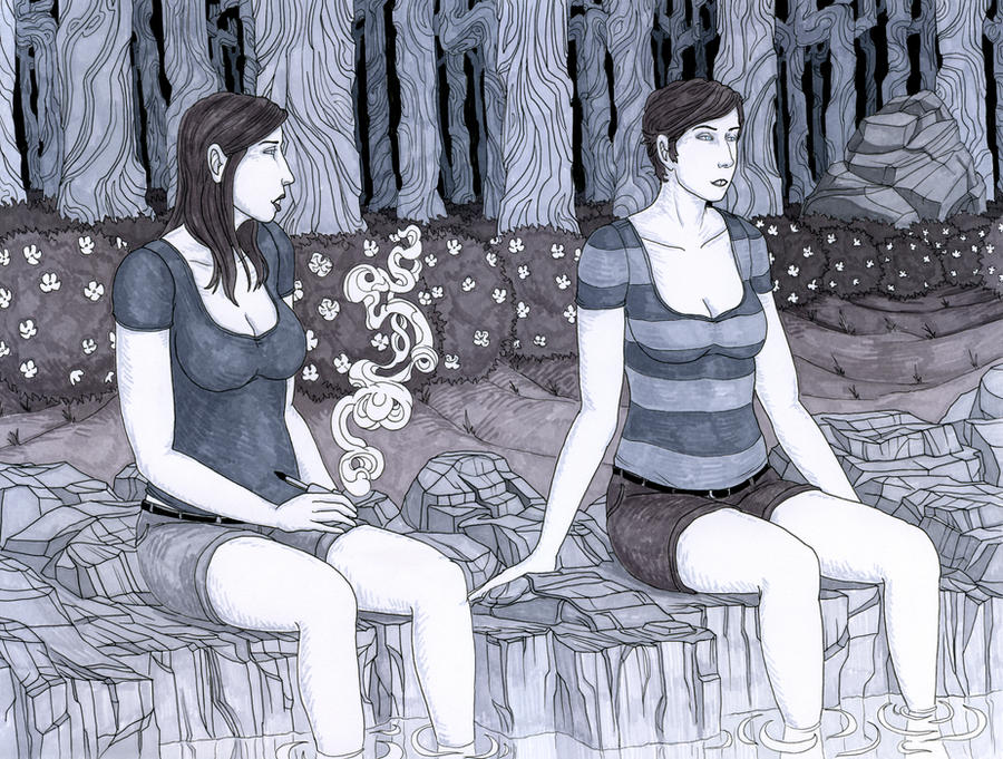 Dolores and Miranda by madbaumer37