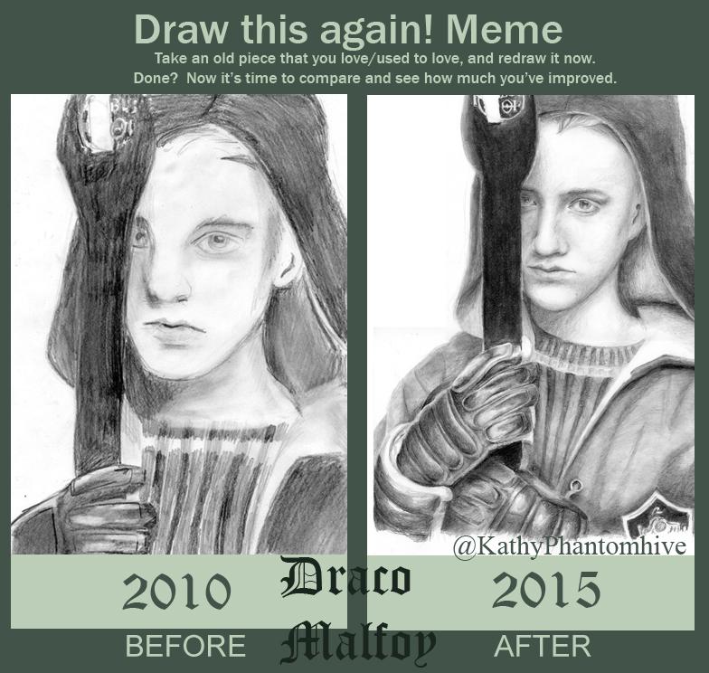 drathisagaindraco_by_kathyphantomhive d9m0r1r meme draw this again! draco malfoy by kathyphantomhive on deviantart