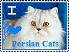 .:SRQ:. Stamp - I Love Persian Cats. by Knob-Gecko