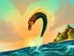 Leaping Mermaid