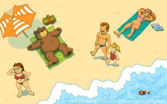 Bruno goes on holiday