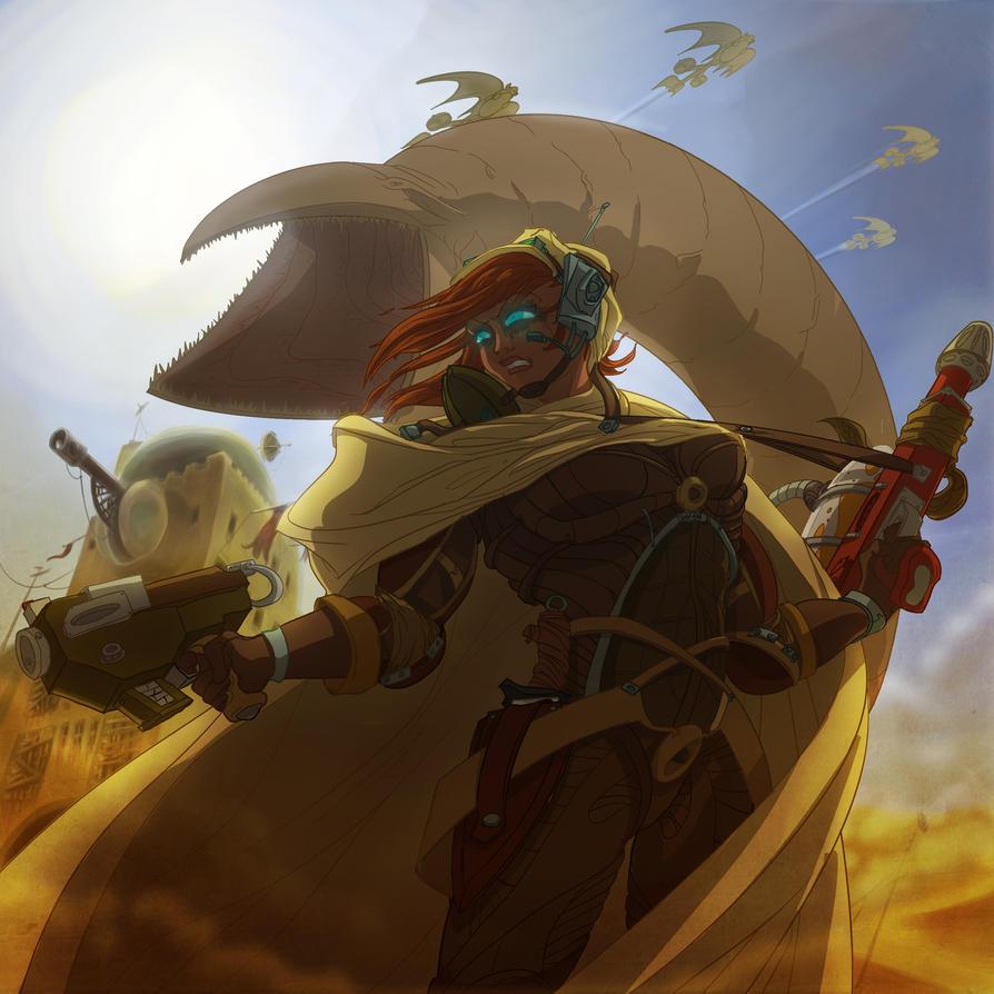 Dune Express by Nagymarci