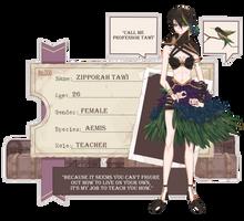 [ PR ]: Zipporah Tawi by BlazingBacon