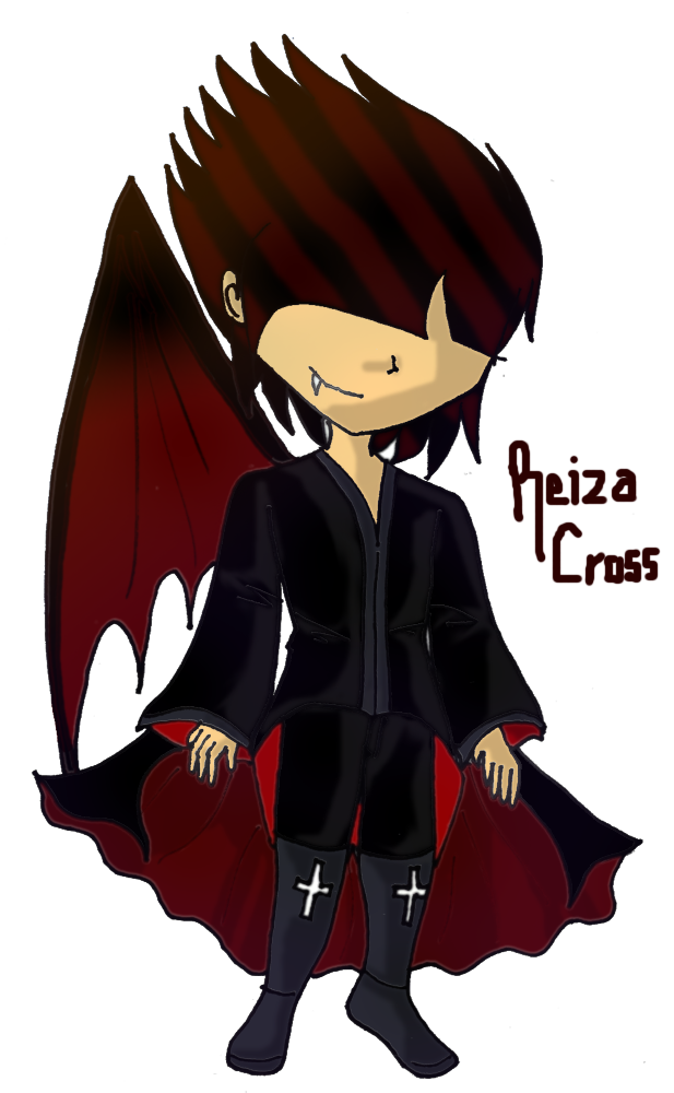 Art Trade- Reiza Cross by nancy-hiwatari