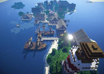 Koenigshaven Overview by SuperKai00