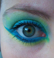 Blue n Green Eye by ashy-stock