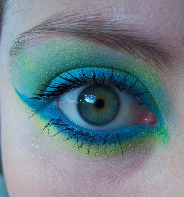 Blue n Green Eye
