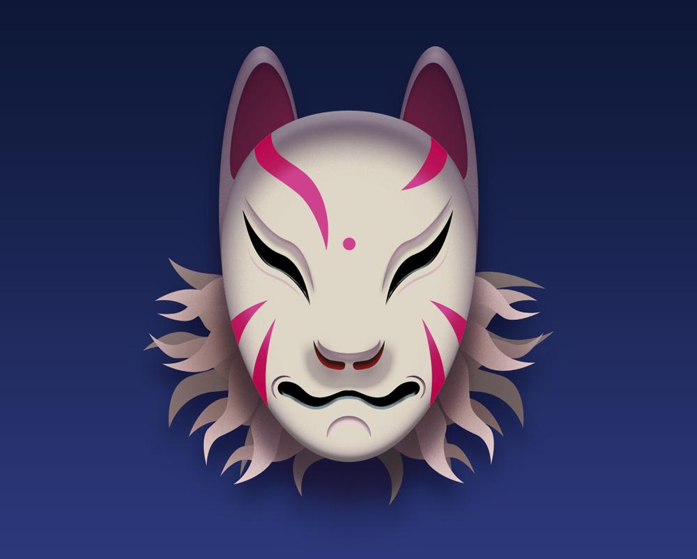 Kitsune Mask By Makux On DeviantArt
