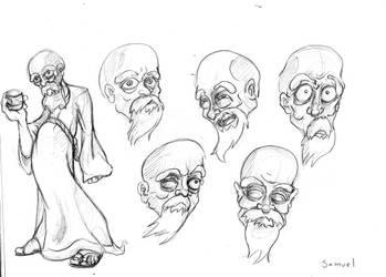 Samuel Character Design by SEGApunk