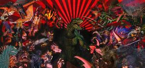 Godzilla Unleashed Movie Poster