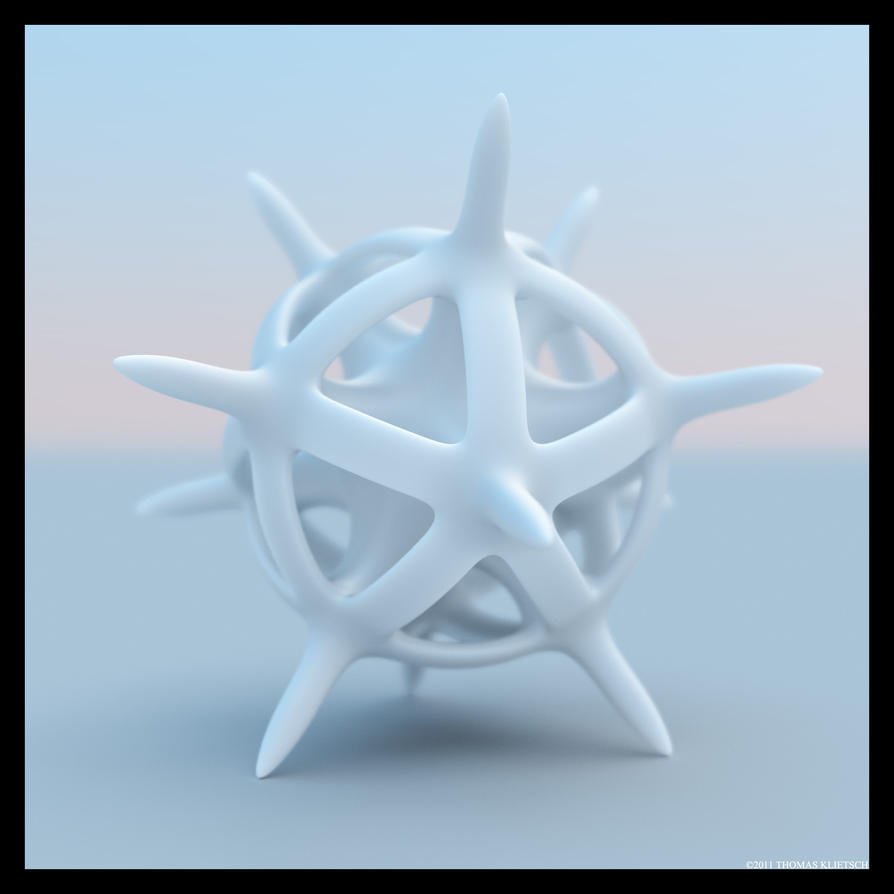 Dodeca Star P by Mathness