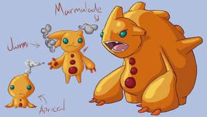 Fakemon: Marmalde evolution