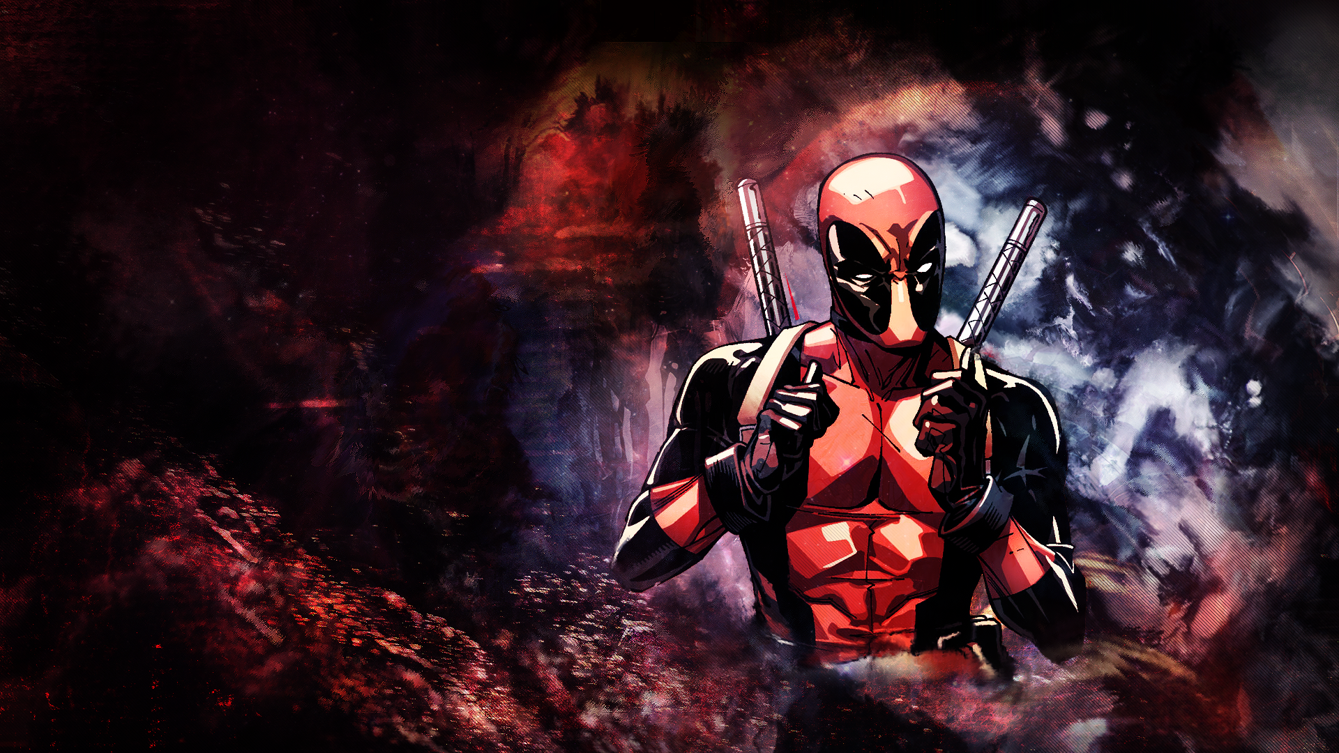 Deadpool Wallpaper 1920x1080 by PandaSeno on DeviantArt