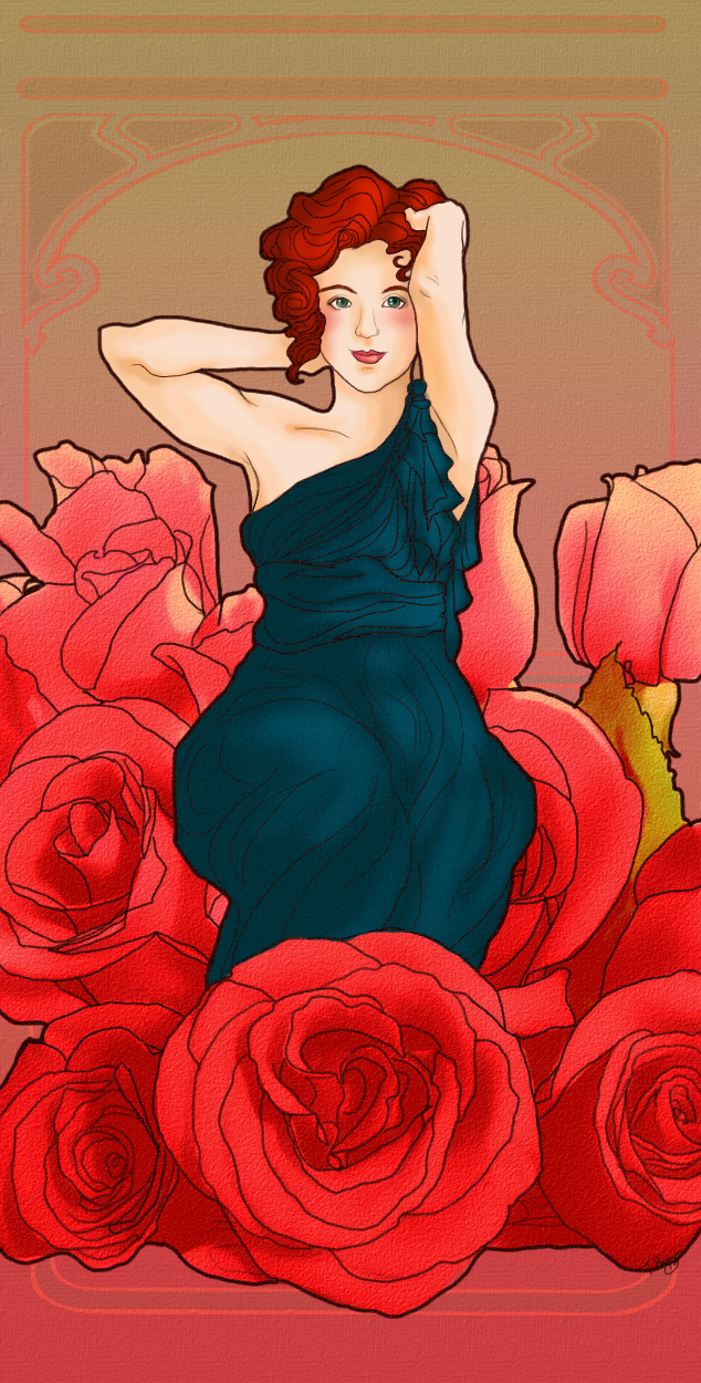 Bridesmaid Rose by hatchback-girl