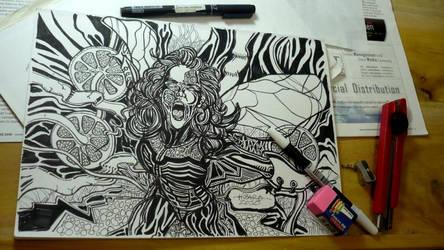 dark-woman by hizaro