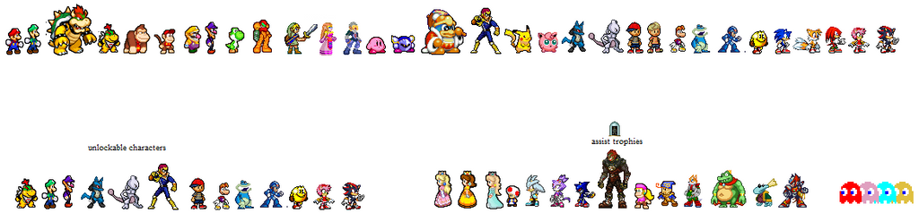 ssb fighters by uniheros2013 on deviantart