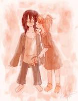 First Kiss by Shiroiyuki3