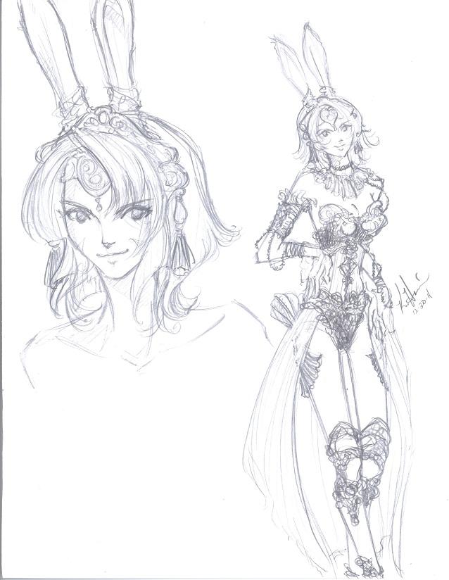 ffxii viera original character design by shiroiyuki3 on