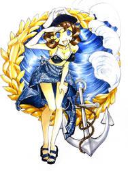 S.S. Kaizoku Con Promo Art by Shiroiyuki3