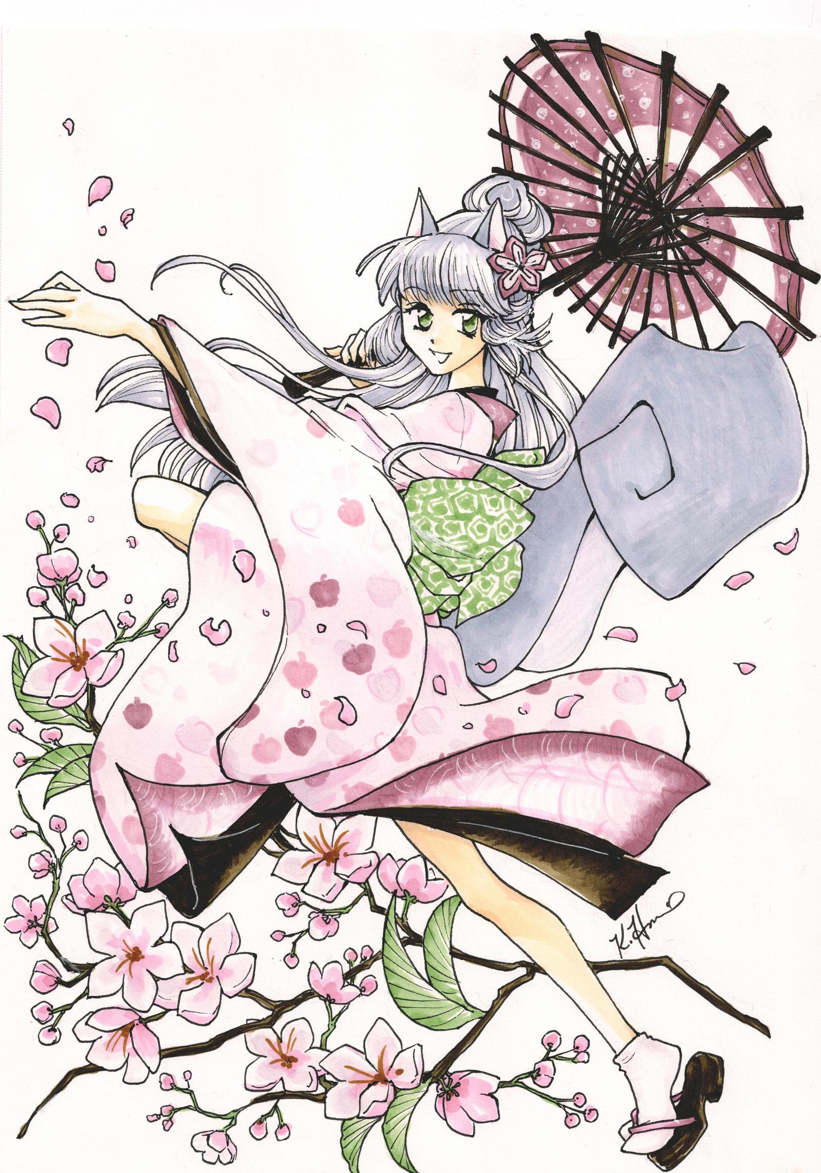 Year of the Cherry Blossom -- JAFAX by Shiroiyuki3