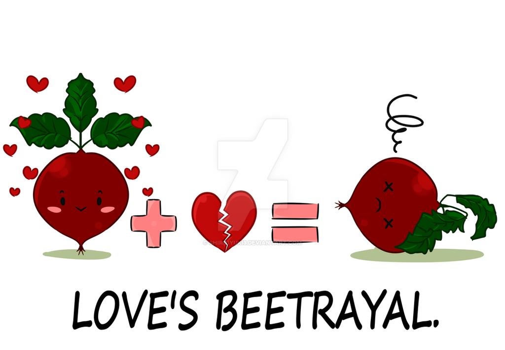 Love's Beetrayal - T-Shirt by Shiroiyuki3