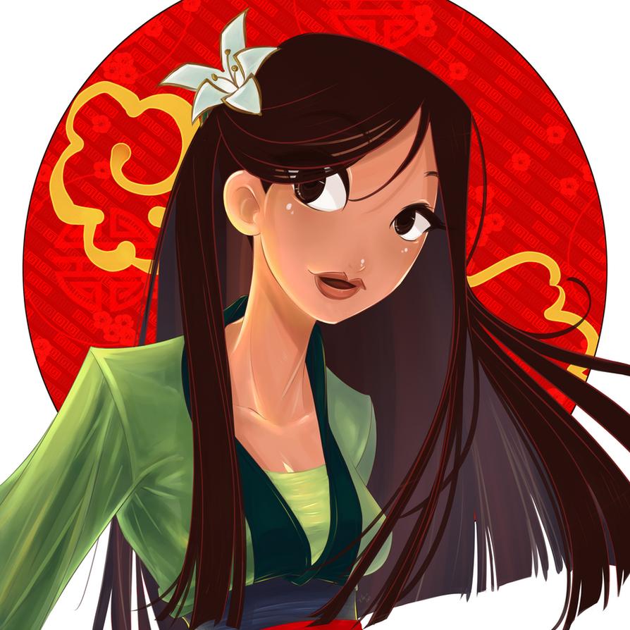 Mulan by Shiroiyuki3