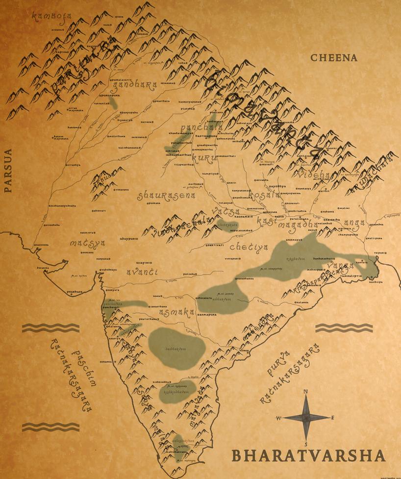 Bharatvarsha by scrollsofaryavart