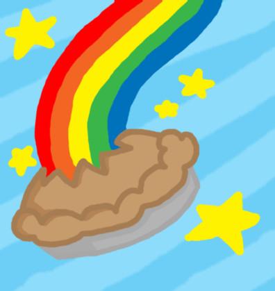 Rainbow Pie by PabbyPie on deviantART