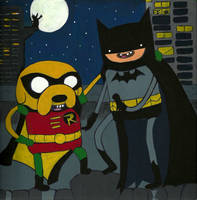 Batman Time by LaraValentina