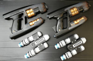 Star-Lord Cosplay Prop Set by Ciddozzo
