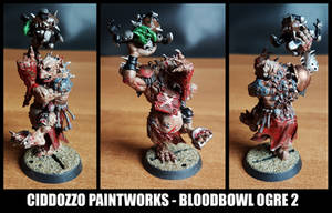 Bloodbowl Brown Troll by Ciddozzo