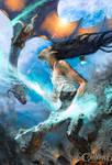 Vesus Dragon Rider by ChristinZakh