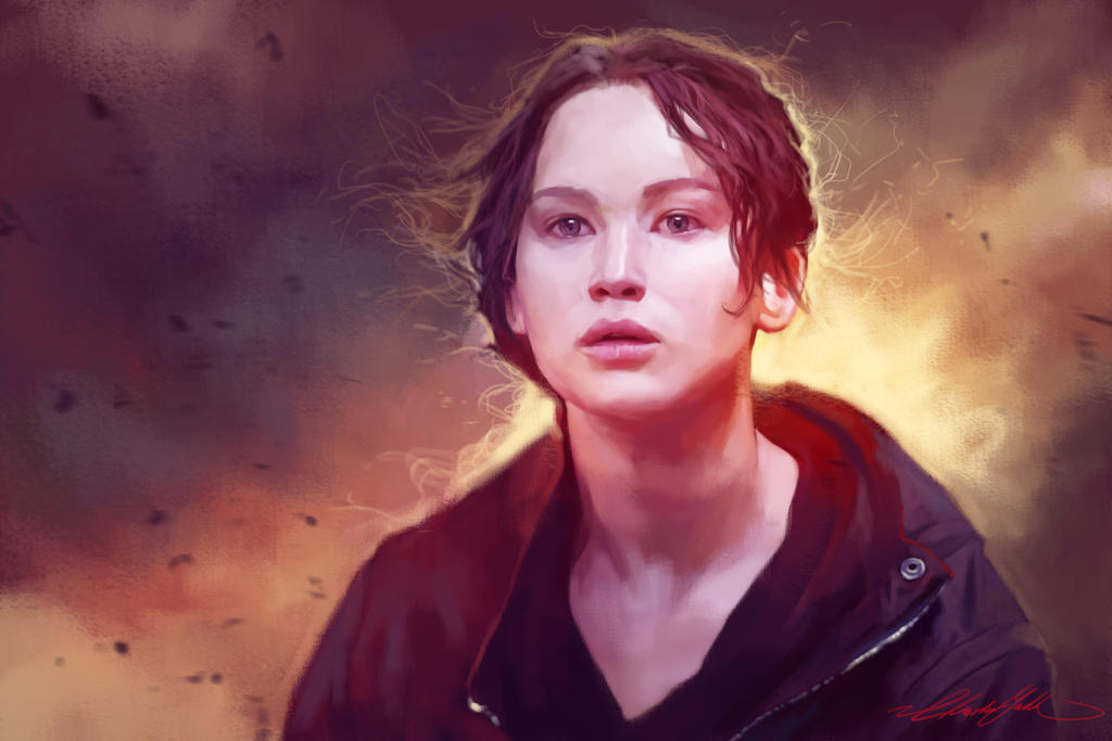 Katniss by ChristinZakh