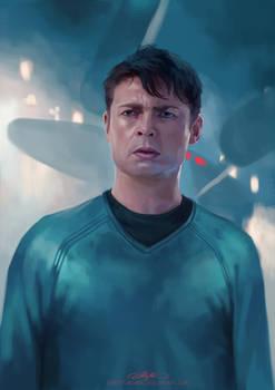 Where did Kirk park damn Enterprise?!