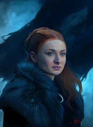 Lady Of Winterfell by ChristinZakh