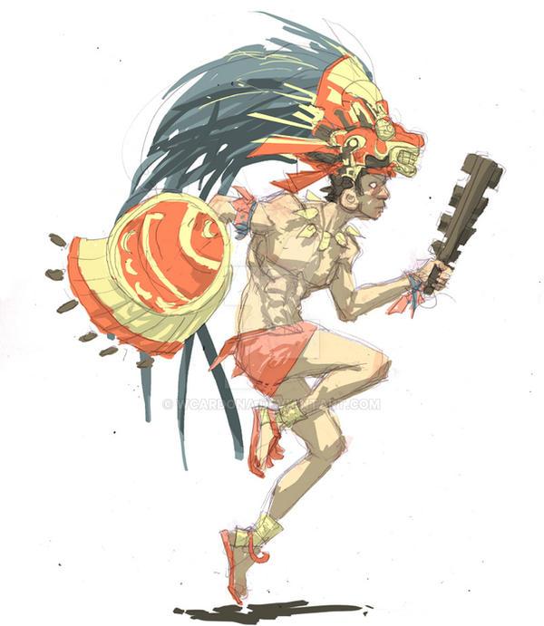 quetzalcoatl by wcardo...
