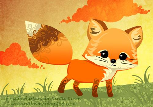 Fox Cheeb by FragileWhispers