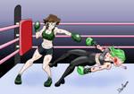 Bookworm vs. Bully 2 (Alice vs. Nerezza)