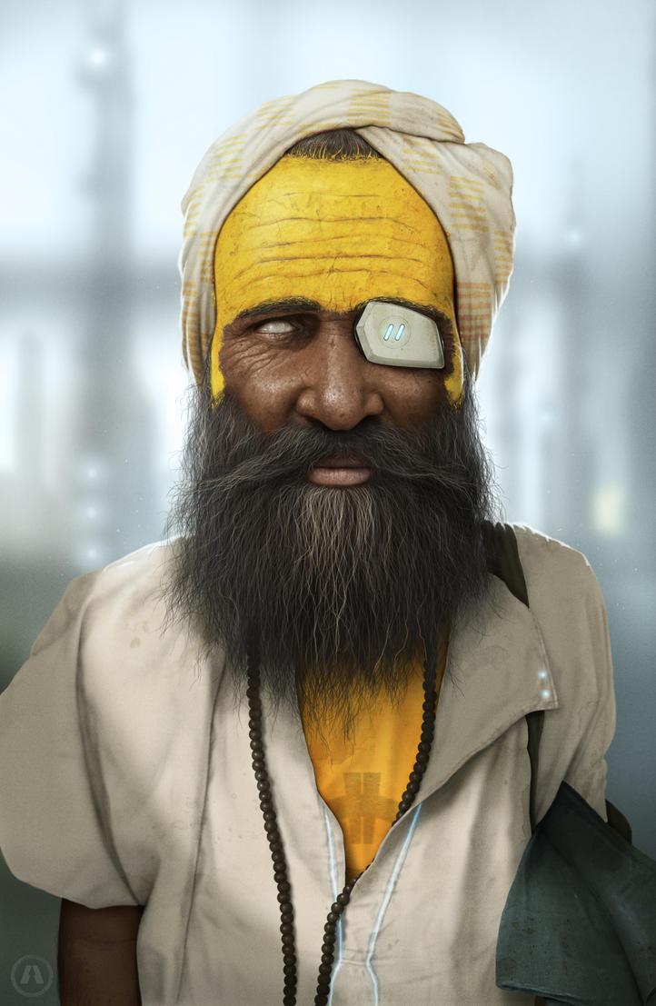 Sadhu 2063 by AnthonyScime