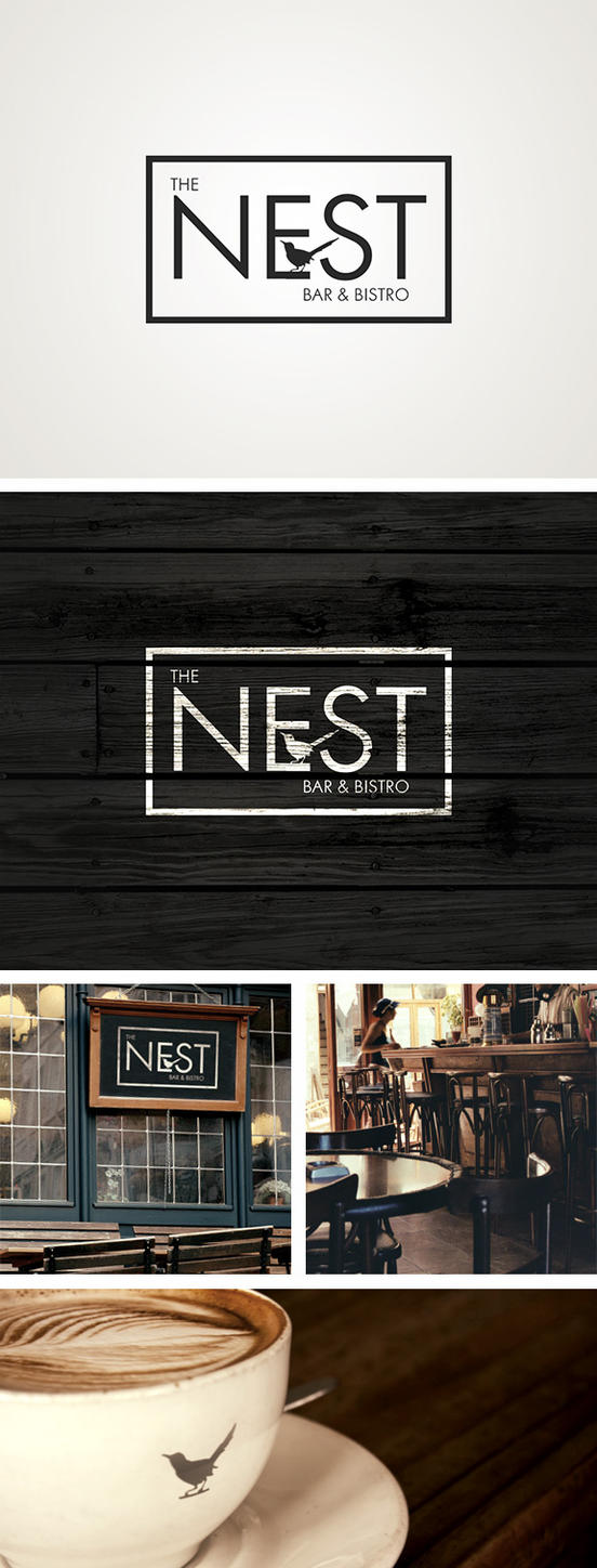 The Nest Branding by AnthonyScime